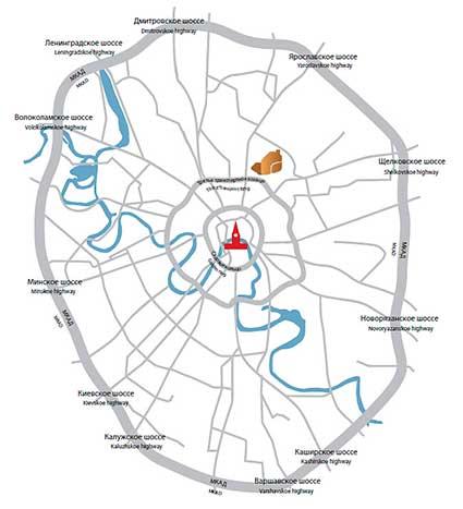 Доставка в пределах МКАД Москвы