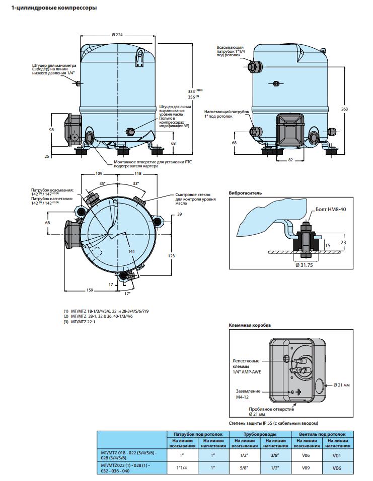MTZ32JF4BVE характеристики
