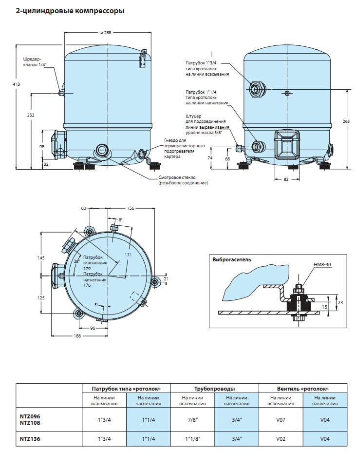 NTZ136A4LR1B характеристики
