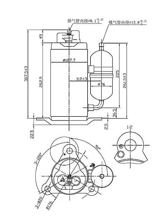 Характеристики QXR-21E