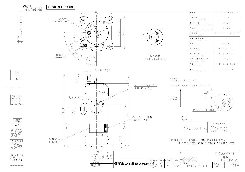 Daikin JT90G-P8V1N характеристики
