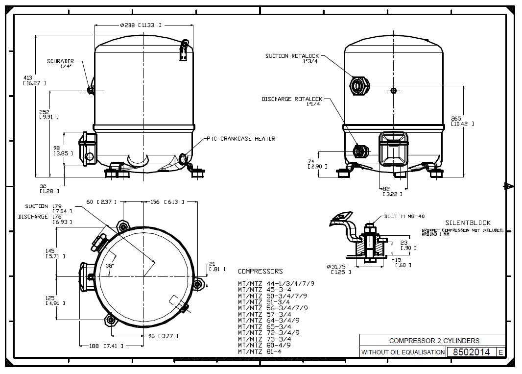 MTZ64HM4BVE характеристики